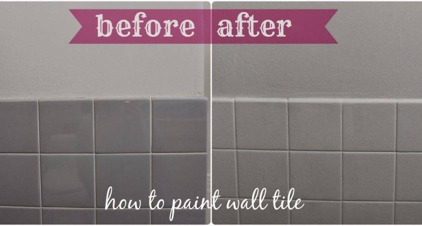 Painting Bathroom Tile