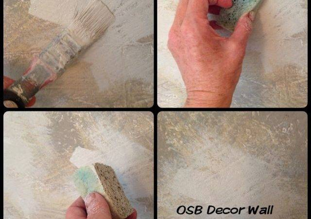 Painting Osb Decor Wall Furniture