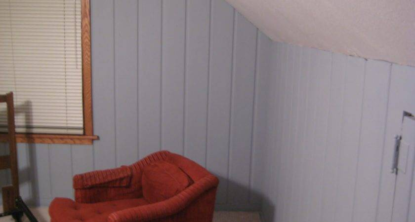 Painting Over Paneling Casual Cottage