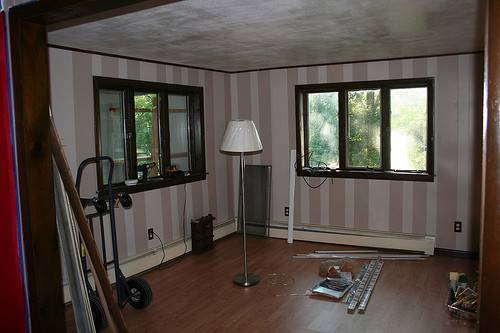 Painting Over Paneling