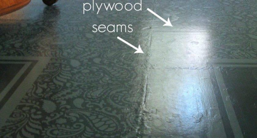 Painting Plywood Floors Houses Flooring Ideas
