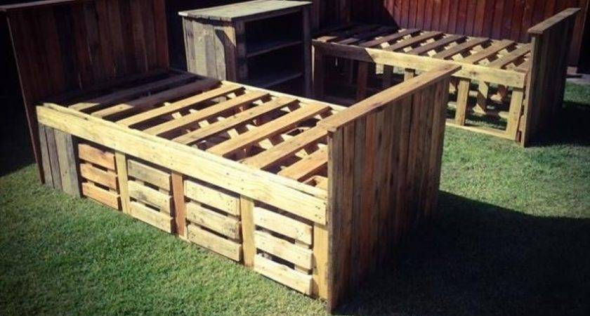 Pallet Bed Frame Instructions Partizans