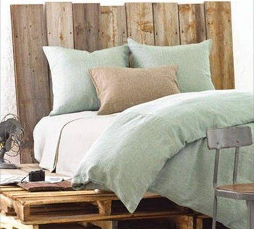 Pallet Bed Frame Plans Furniture Ideas