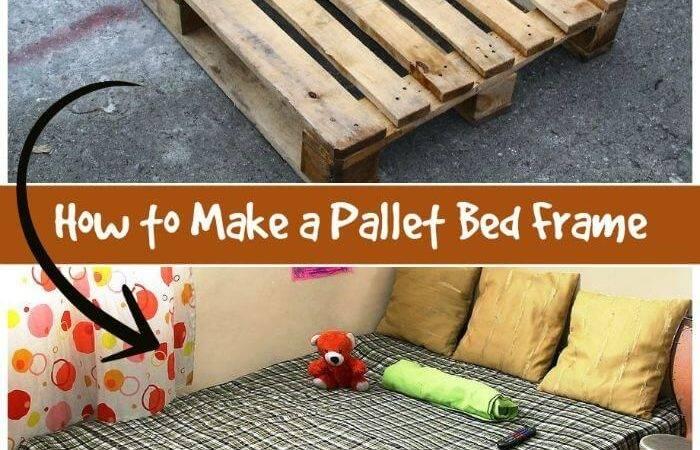 Pallet Bed Ideas Step Frame