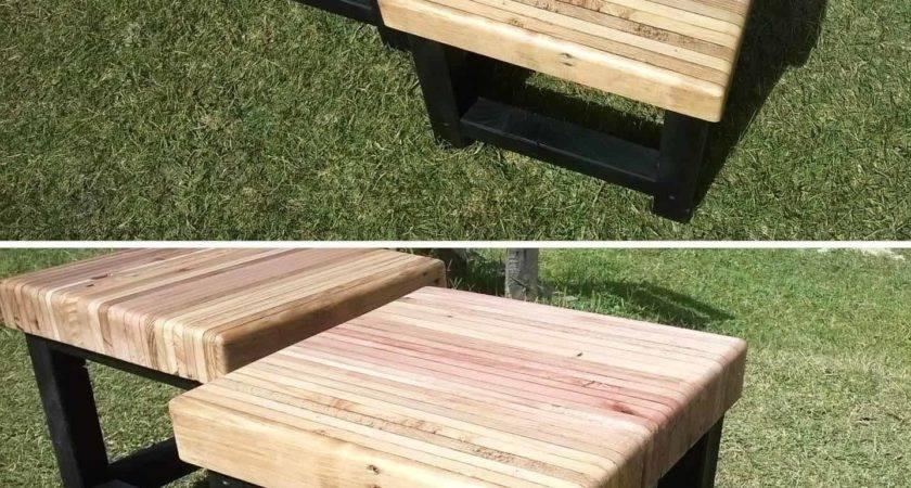 Pallet Bench Seat Pallets