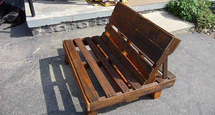 Pallet Chair Youtube