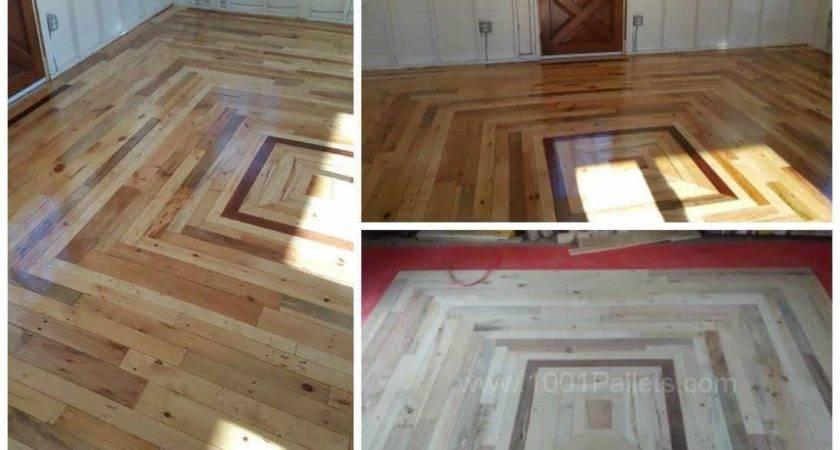 Pallet Floor Cottage Out Back Pallets