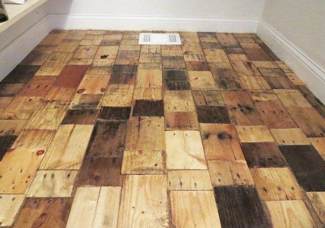 Pallet Floors Redo Flooring Diy Hardwood