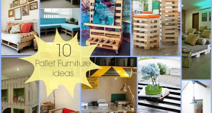Pallet Furniture Ideas Diy Cozy Home
