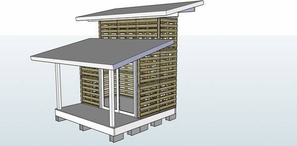 Pallet House Plans Ideas Give New Life Old Wooden