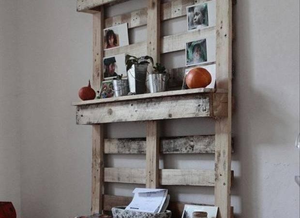 Pallet Ideas Kitchen Shelf Dump Day