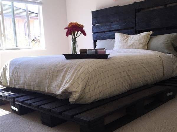Pallet Platform Bed Furniture Plans