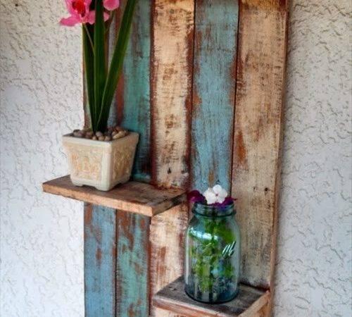 Pallet Storage Shelf Furniture Ideas