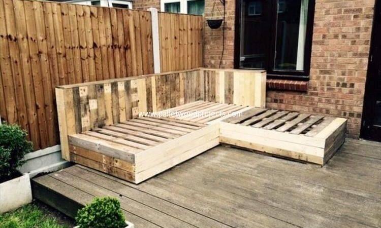 Pallet Wood Deck Plans Projects