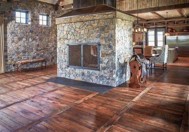 Pallet Wood Flooring Home Design Garden Architecture