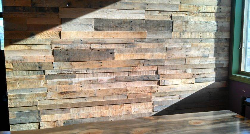 Pallet Wood Wall Prefabricated Panels