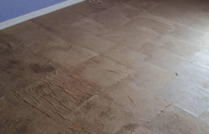 Paper Bag Floor Diy Easy Step Tutorial Slap