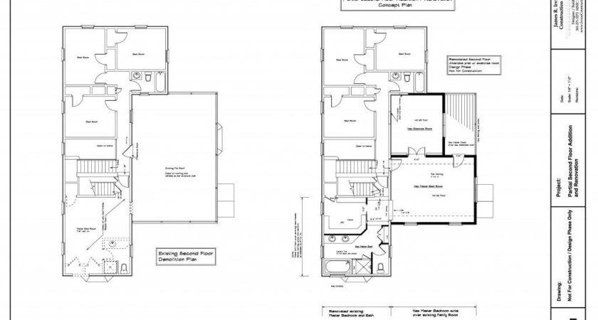Partial Second Floor Home Addition Maryland Irvine