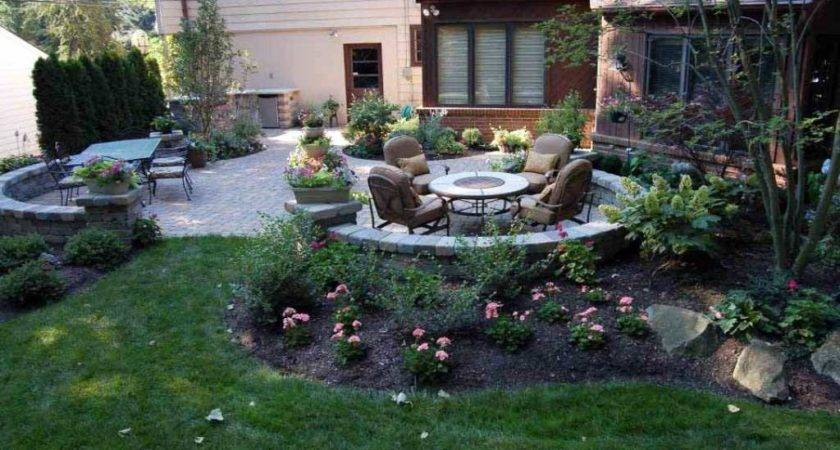 Party Back Backyard Landscaping Ideas Tips