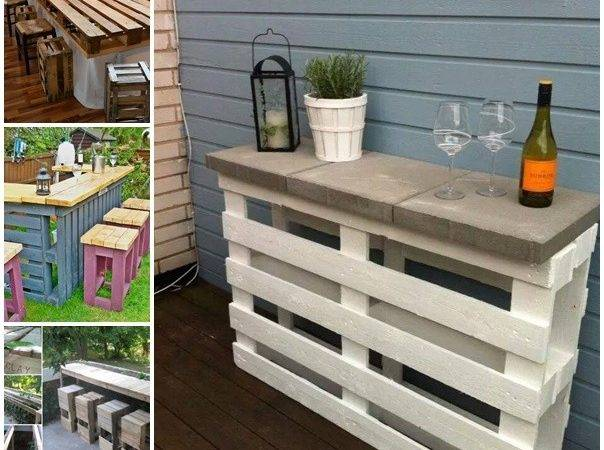 Patio Furniture Made Out Pallets Theradmommy