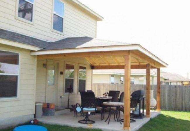 25 Best Patio Overhang Ideas - Brainly Quotes on Backyard Overhang Ideas id=28379