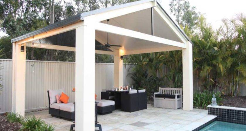 Patio Roofing Materials Standing Roof Designs
