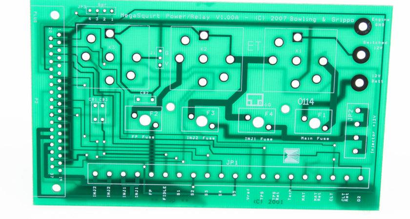 Pcb Megasquirt Relay Board Only