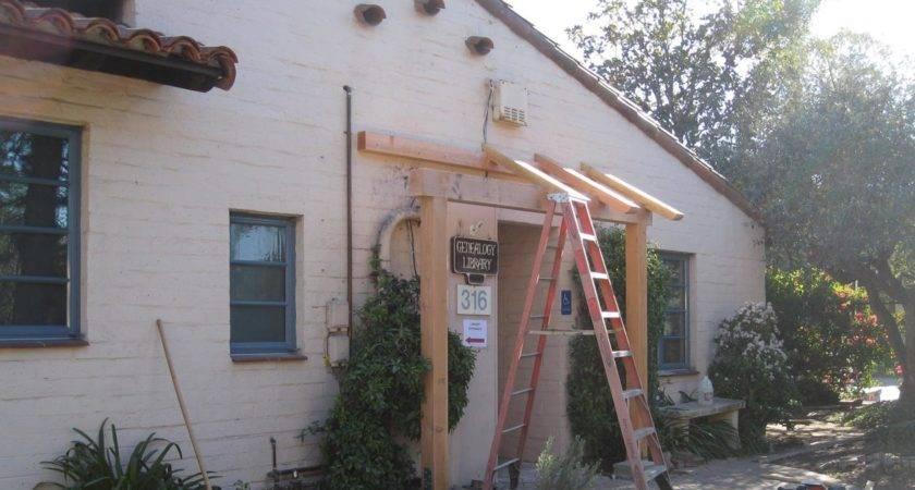 Pdf Diy Build Wood Awning Over Door Plans