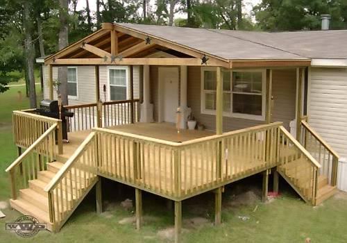 Photos Modular Home Deck Plans Mobile Homes Ideas