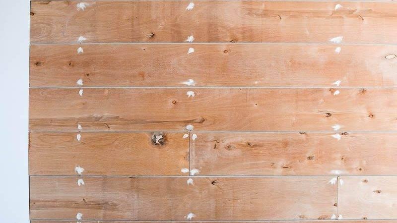 Plank Wall Diy Shiplap