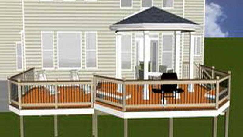 Planning Ideas Custom Elevated Deck Plans