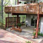 Planning Ideas Simple Outdoor Elevated Deck Plans