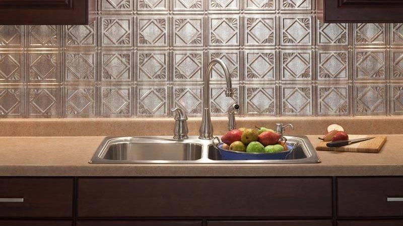 Plastic Backsplash Kitchen All Home Design Ideas