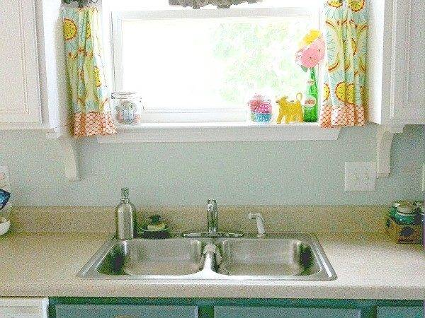 Plastic Kitchen Backsplash