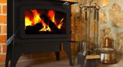 Pleasant Hearth Square Feet Wood Burning Stove