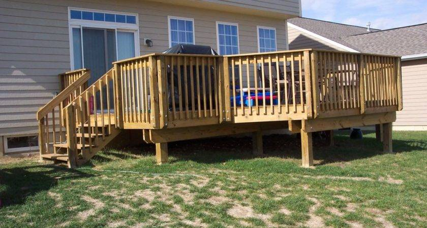 Pleasant Outdoor Small Deck Designs Inspirations Your