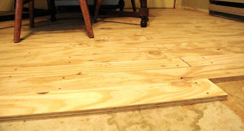 Plywood Flooring Faded Country