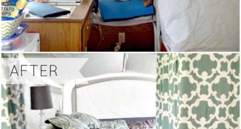 Pop Camper Remodel Before After Decoor