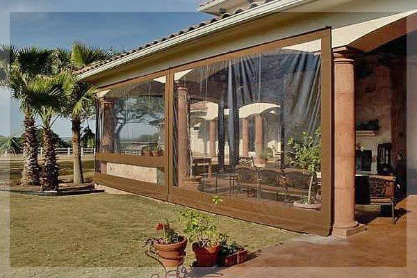 Porch Enclosure Existing Brick Knee Wall