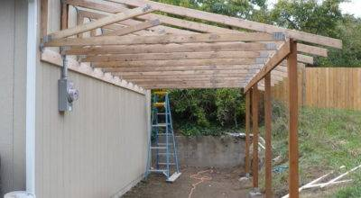 Porch Roof Plans Correct Installation Over