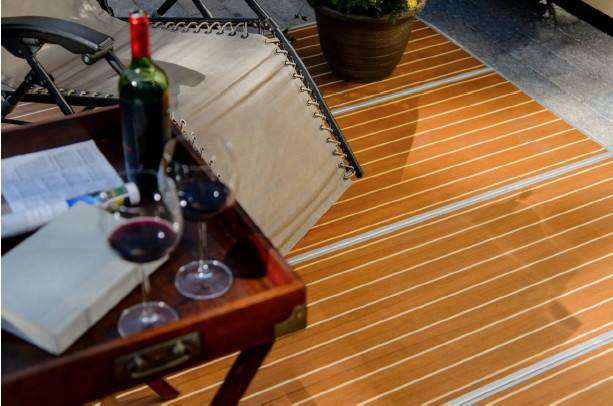 Portable Deck Rolling Out Louisville Show Business