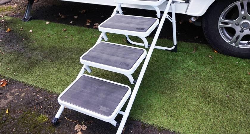 Portable Folding Caravan Steps Perfect Motorhomes