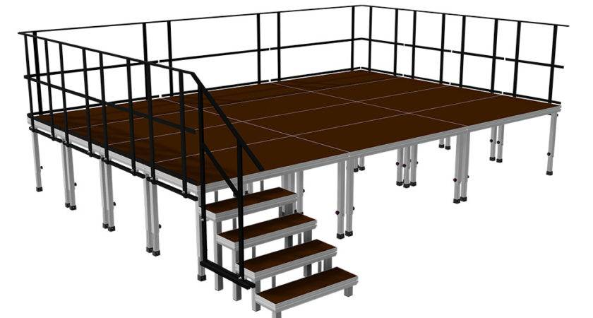 Portable Staging Platform Packages Ergo
