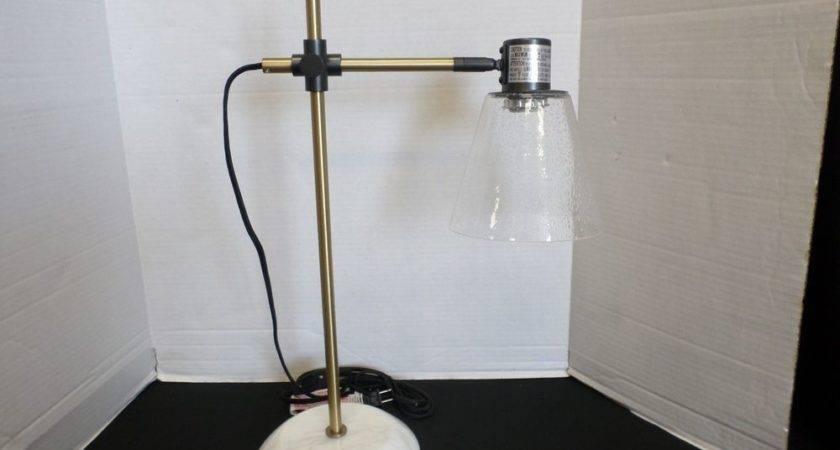 Pottery Barn West Elm Factory Task Table Art Desk Lamp