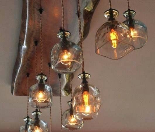 Pottery Barn Wine Bottle Chandelier Diy Musethecollective