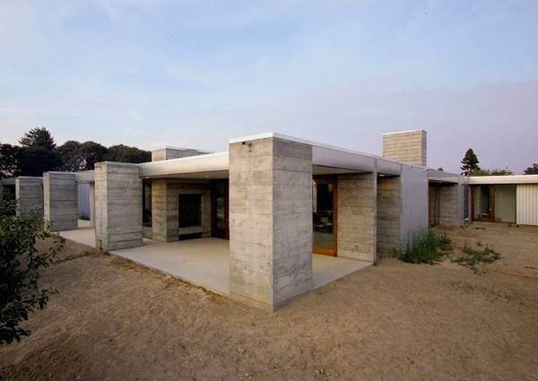 Prefabricated Concrete Home Sonoma County Aligned