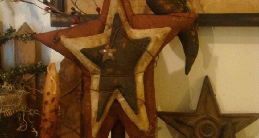 Primitive Americana Stars Crow Make