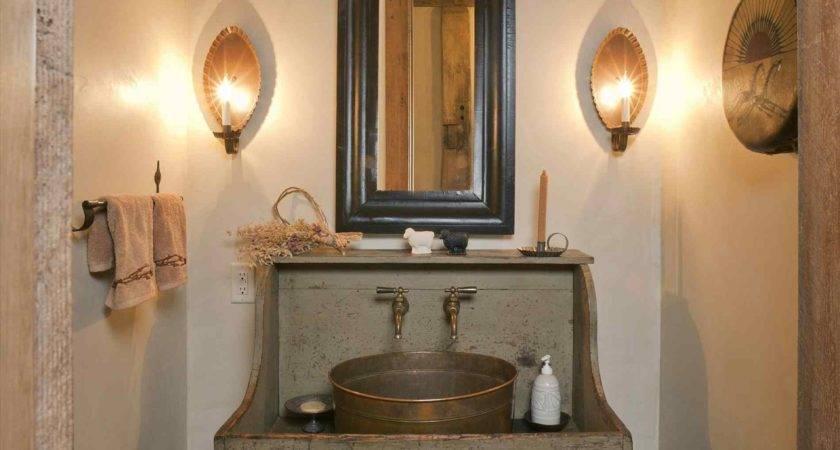 Primitive Country Bathroom Decorating Ideas Datenlabor Info