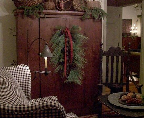 Primitive Country Christmas Decorations Pixshark