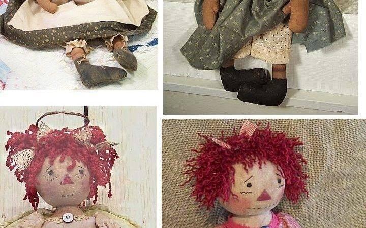 Primitive Doll Pattern Raggedy Pants Designs Patterns